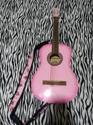 VENDO violão rosa marca Dolphin