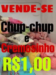 Vende-se    Chup-chup e Cremosinho