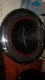 Subwoofer Grave Pioneer TS-W304R Impecável!!