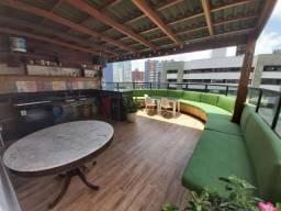 Cobertura duplex com 4 dormitórios à venda, 400 m² por R$ 1.290.000 - Meireles - Fortaleza