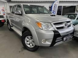 Toyota Hilux cd Srv 3.0 Aut Turbo Diesel Ano 2008 Mais Nova Anunciada Prestige Automóveis