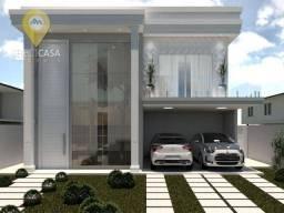 Casa com 3 dormitórios à venda, 230 m² por R$ 1.500.000 - Boulevard Lagoa - Serra/ES
