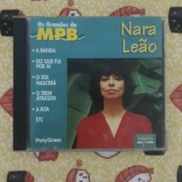 CD Nara Leão - Os Grandes da MPB