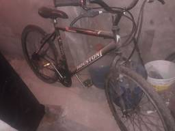 Vendo bike 18 marchas semi nova