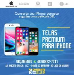 Troca de tela / Conserto de celular / iPhone