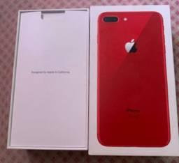 Vendo caixa do iphone 8plus red