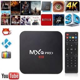 TvBox MXQ Pro 4K 5G - Transforme sua TV em Smart Tv