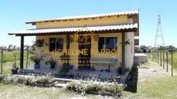 FC/ Maravilhosa casa em Unamar com 2 quartos