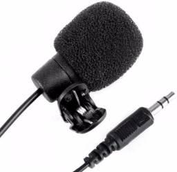 Microfone Lapela Celular Smartphone Notebook Stereo