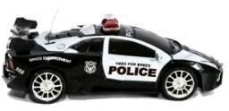 Carrinho De Policia com Controle Remoto