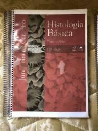 Livro-texto Histologia Junqueira + Atlas fotográfico