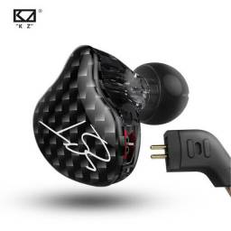 Fone Kz Zst In Ear Carbono Encorpado Original Retorno Profissional Palco