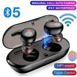 TWS Y30 Fone de Ouvido Sem Fio Bluetooth