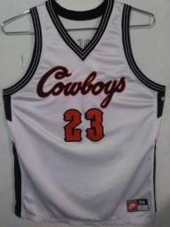 Jersey Oklahoma State Cowboys Nike Retrô Basketball tamanho EGG 80cm x 66cm