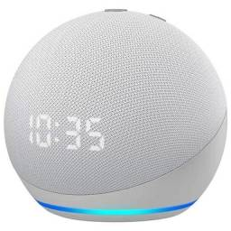 Caixa de Som Amazon Echo Dot 4ª Geração Com Relógio Bluetooth