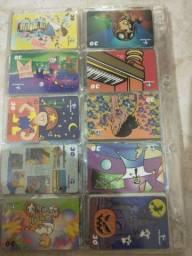 + de 1400 cartões telefônicos