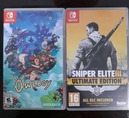 Jogos de Nintendo switch