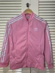 Casaco rosa da adidas com bolso