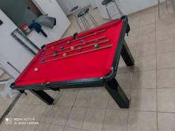Mesa Tentação mdf Tecido Vermelho Mod. 746HS0KR