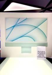 """Título do anúncio: Apple iMac 24"""" 4.5K M1 7C 16GB 1TB Green - Produto Novo e com Garantia"""