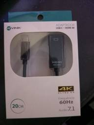 Adaptador USB c para hdmi 4k