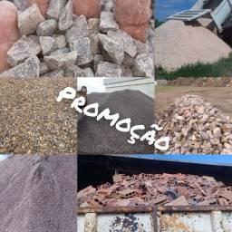 Seixo Japurá areia pedra brita pedra rachão