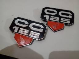 Emblemas laterais CG bolinha 77 a 82