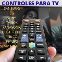 Controle Remoto  exclusivamente para TVs