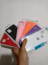 Case com veludo interno: Samsung, Xiaomi, LG, Motorola