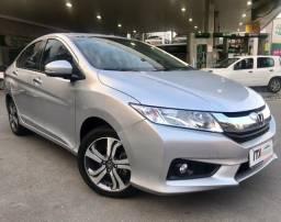 Honda City EXL 1.5 Aut. Flex 2015 - ÚNICO DONO + BAIXO KM