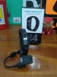 Smartwatch M4, relógio inteligente promoção