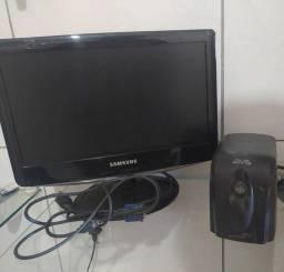 Monitor Samsung original e estabilizador marca SMS original ( Modelos usados)