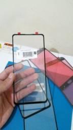 Tela vidro Xiaomi Mi 9T, Mi 9T PRO, Mi 9, Mi 9 Lite, Mi 9 SE