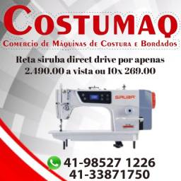 Maquina Reta Direct Drive Siruba - Costumaq