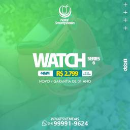 APPLE WATCH SERIE 6 ZERO/ TAMANHO: 44MM - RED EDIÇÃO LIMITADA - 365 DIAS DE GARANTIA