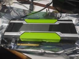 Placa de vídeo - NVidia tesla k80 24 Gb DDR5
