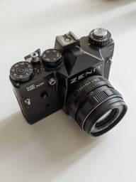 Zenit 12 XP + Helios 58mm + Tokina 200mm