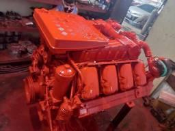 Máquina marítima Scania V8 com reversor ZF!