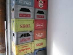 Vasilhames para armazenar cervejas