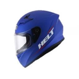 Capacete Helt Polar Strada New Race Azul Original 58