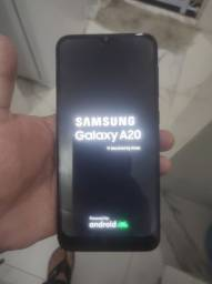 Samsung A20 aceito cartão