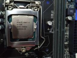Kit Processador e Placa Mãe ( i3-7100 / H110m-CS/BR )