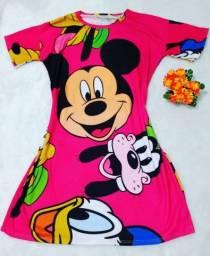 Roupa Feminina Vestido Disney