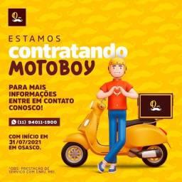 Preciso de motoboy Delivery