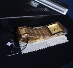 (À prova dágua) Relógio importado de luxo WWOOR