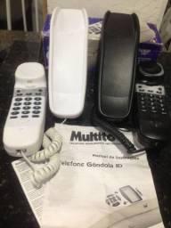Telefone Gôndola com identificador de chamada