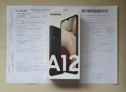 SAMSUNG A12 64GB NOVO COMPLETO NA GARANTIA
