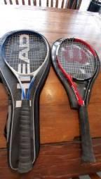 Raquetes (2): Wilson Comp e Pro Craft