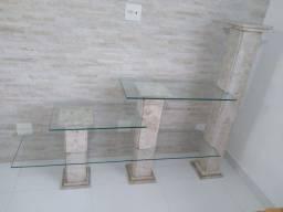 Estante de mármore