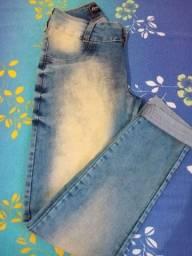 Calças jeans novas Tam 42